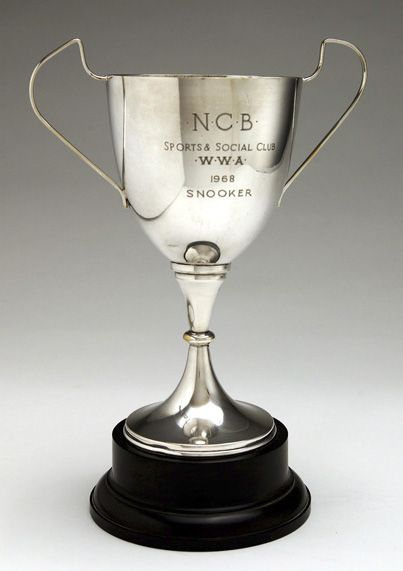 N.C.B. Sports & Social Club Snooker cup