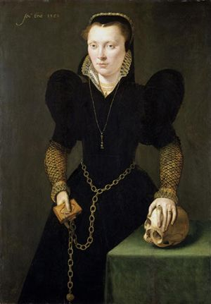 Katheryn of Berain, 'The Mother of Wales' (1534/5-1591), Adriaen van Cronenburgh