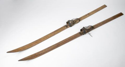 Skis from Scott's British Antarctic (Terra Nova) Expedition 1910-13