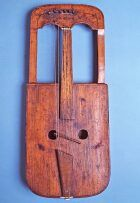The 18th century crwth housed at St Fagans National History Museum