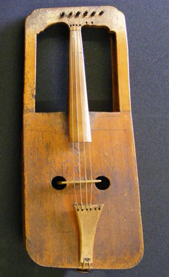 The National Library of Wales crwth