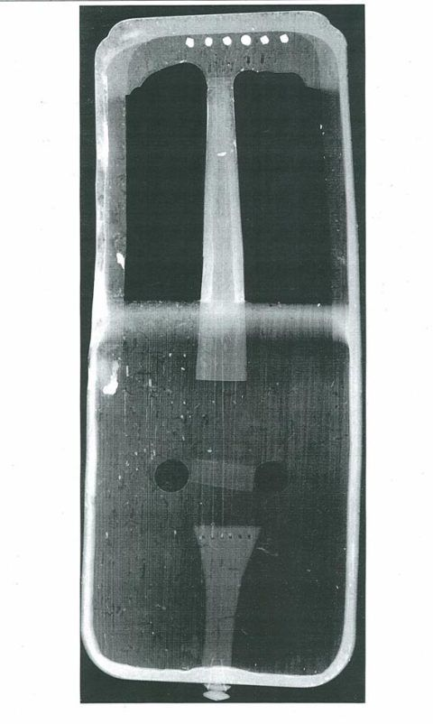 The x-ray of the National Library crwth