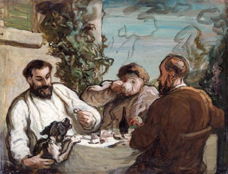 Lunch in the Country, 1868, Honore Daumier