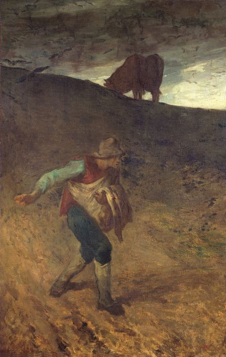The Sower, 1847-8, Jean-François Millet