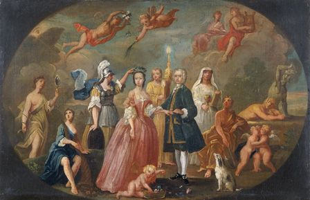 The Marriage of Sir John Pryce (d. 1761)