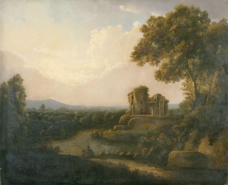 River Landscape with Castle