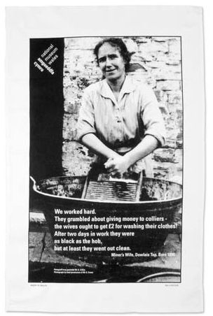 A Woman's Work teatowel