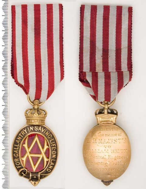 Albert Medal of the First Class, to William Beith.
