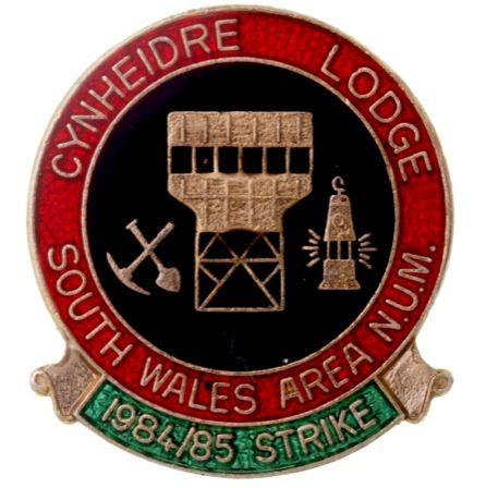 Cynheidre Lodge South Wales Area N.U.M.