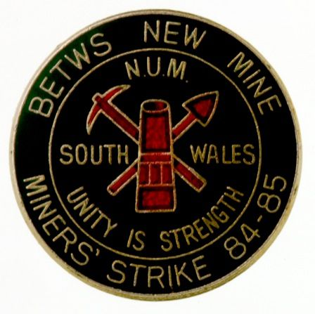 Betws New Mine Miners' Strike 84-85