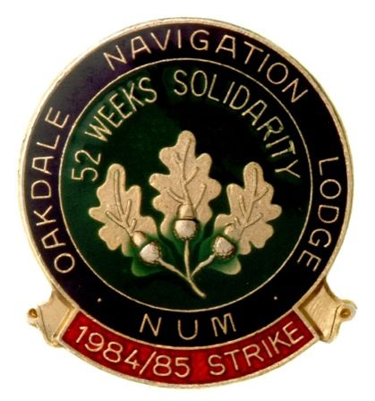 Oakdale Navigation Lodge N.U.M. 1984/85 Strike