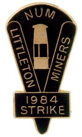 N.U.M. Littleton Miners 1984 Strike
