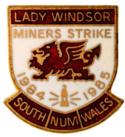 Lady Windsor South Wales N.U.M