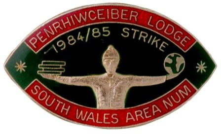 Penrhiwceiber Lodge South Wales Area N.U.M.