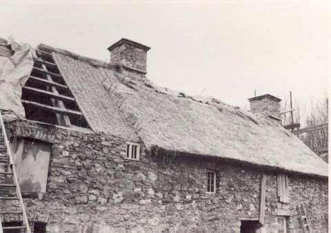 Re-erecting Kennixton Farmhouse at St Fagans National History Museum