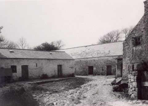Kennixton farm buildings in Llangennith, Glamorgan
