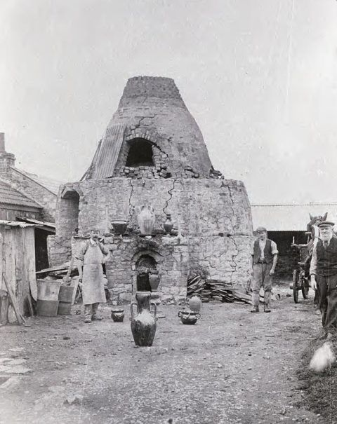This view of Ewenny Pottery dates from the early twentieth century.