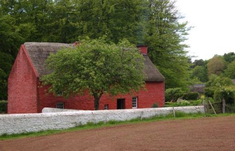 Kennixton Farmhouse at St Fagans National History Museum