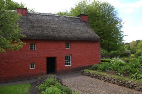 Kennixton Farmhouse at St Fagans National Museum of History