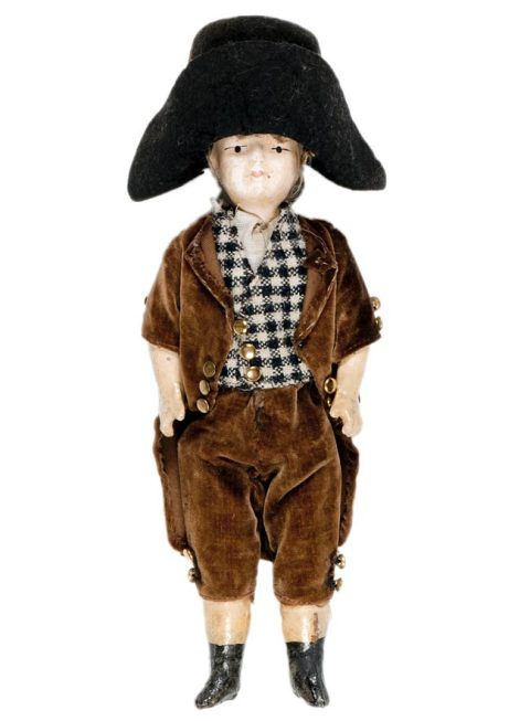 A male doll from the late 19th century