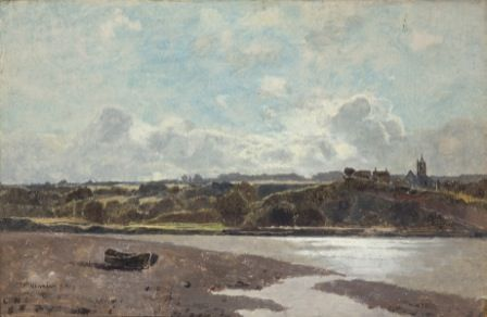 Landscape opposite Newnham on Severn, 1880
