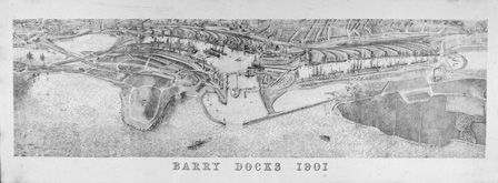 Barry Docks 1901