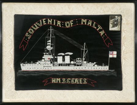 H.M.S. CERES - Souvenir of Malta