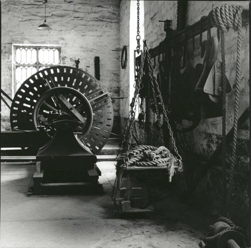 Original machinery, fitting shop