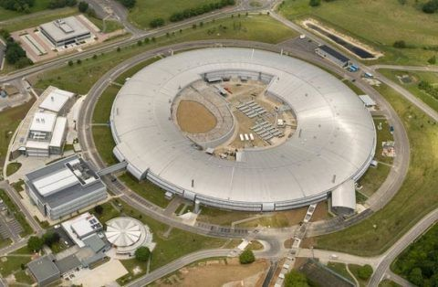 Diamond Light Source synchrotron facility at Didcot, Oxfordshire