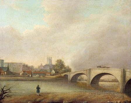 Cardiff, Old Canton Bridge
