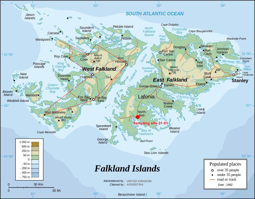 Falkland Islands Weather January