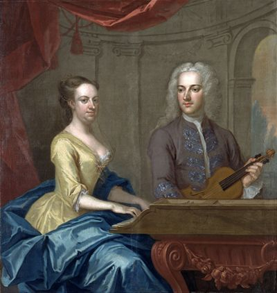 Thomas Powell (d.1752) and Mary Powell