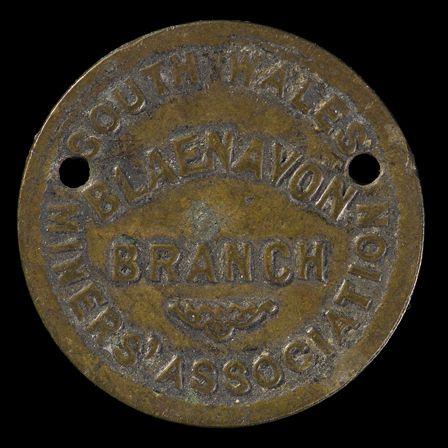 South Wales Miners' Association Token