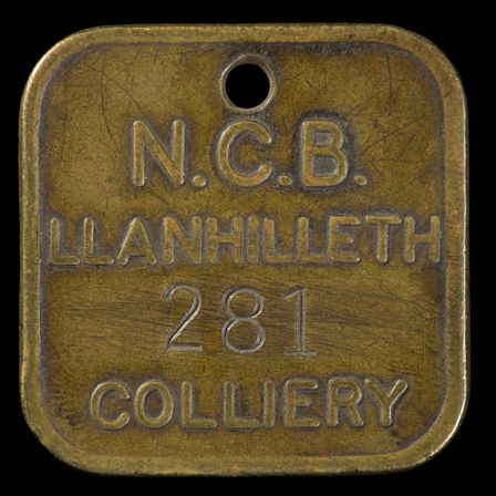 Lamp Check, Llanhilleth Colliery