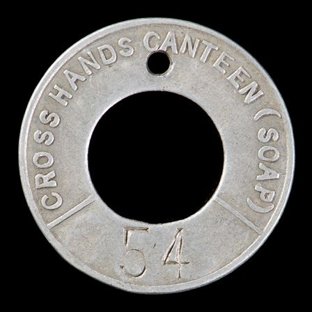 Canteen Check, Crosshands Colliery