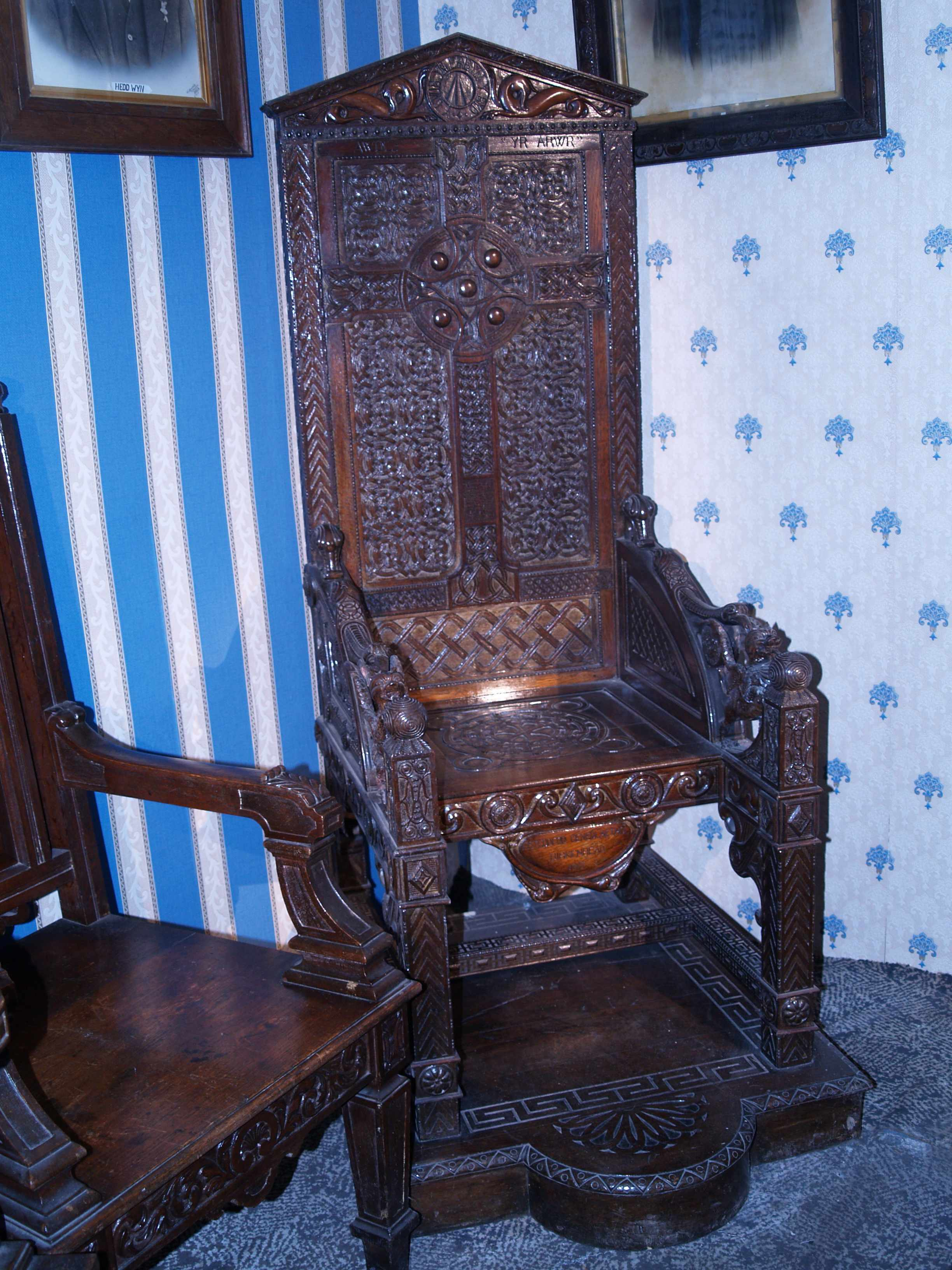 The Birkenhead National Eisteddfod Black Chair, 1917