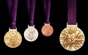 London 2012 Olympic medals made at the Royal Mint, Llantrisant (c) LOCOG