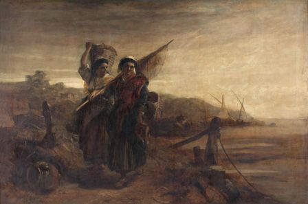 Fisherwomen of the Basque Provinces