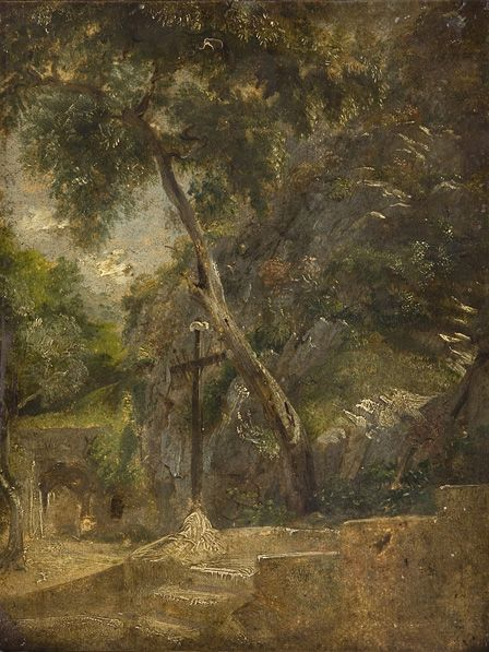 Crucifix in Landscape