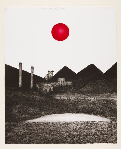 Nocturne for Wales (Red Hen Press, 1987) Cwmparc Colliery, Rhondda Valley  © Shirley Jones