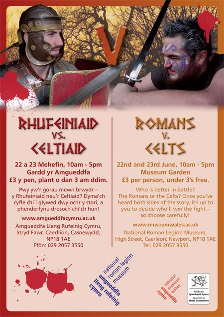 The Romans vs. the Celts