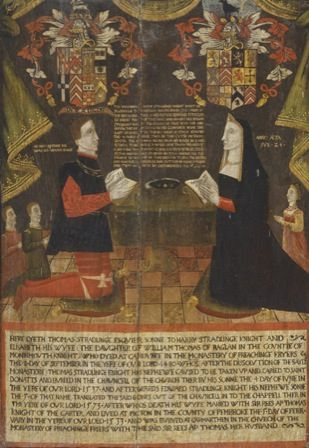Thomas (d.1480) and Elizabeth Stradlinge (d.1533)
