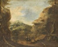 Landscape with Three Figures
