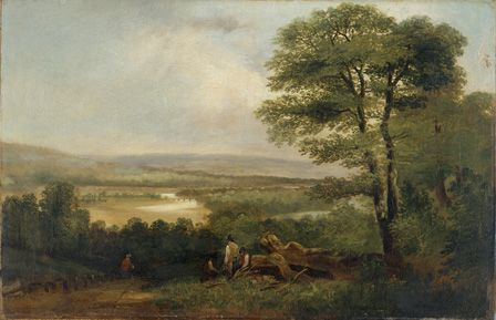 Landscape: View in Northumberland