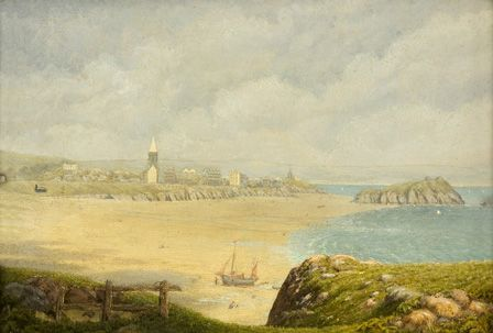 Tenby, the Beach
