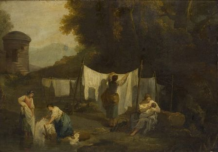 The Bleaching Grounds (Peasants washing Linen)