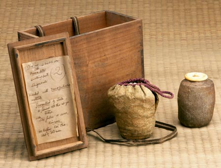 Chanoyu objects collected by Bernard Leach