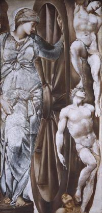 Wheel of Fortune, Burne Jones