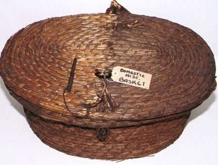 A basket from the domestic collections