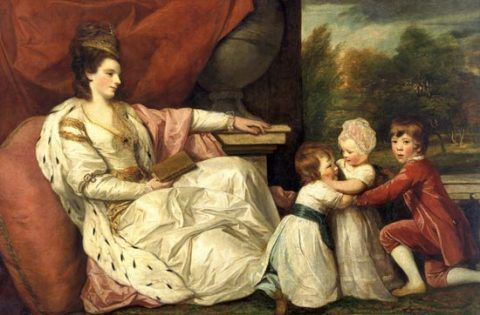 Charlotte Grenville and her children